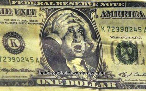 dollar collapse ekonomi AS jatuh