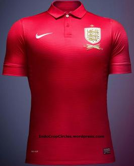 England Jersey 2014 red