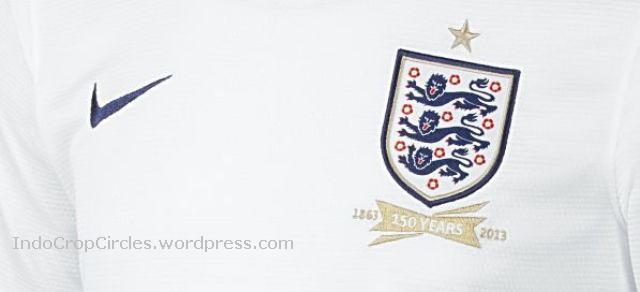 England Jersey 2014 white close
