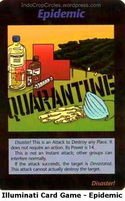 Illuminati Card Game - Epidemic