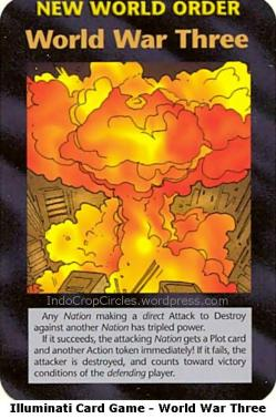 Illuminati Card Game - World War Three