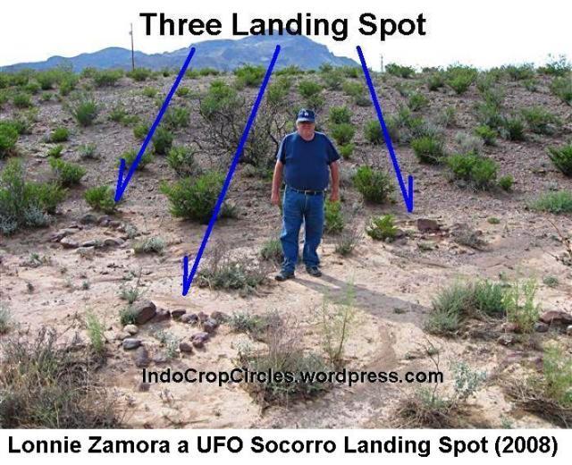 Lonnie Zamora ufo Socorro Landing 03