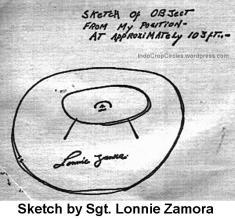 Lonnie Zamora ufo Socorro Landing 16