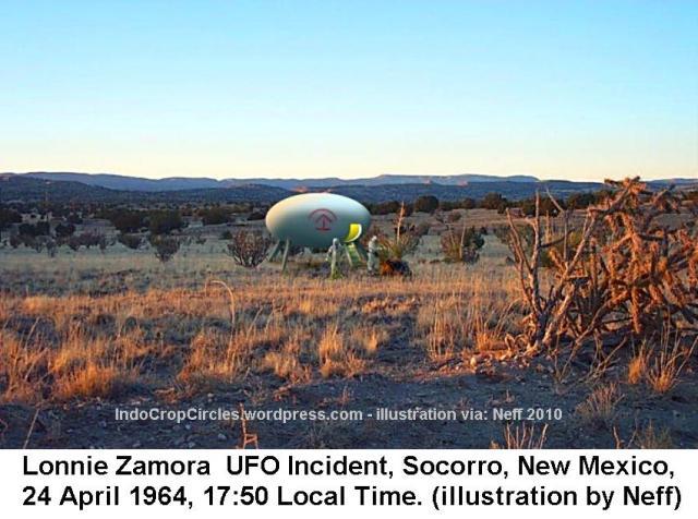 Lonnie Zamora ufo Socorro Landing