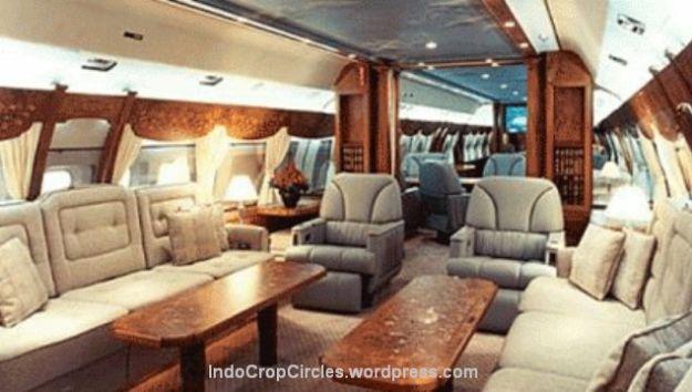 Rencana interior pesawat kepresidenan RI