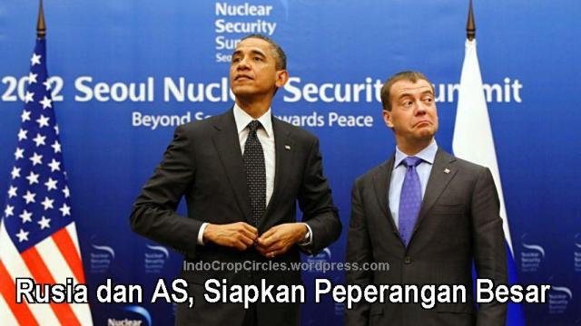 obama-medvedev-Rusia dan AS, Siapkan Peperangan Besar