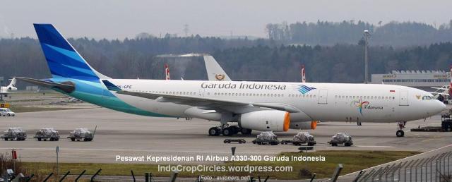 Pesawat-Kepresidenan RI Airbus A330-300 Garuda Indonesia_PK-GPE
