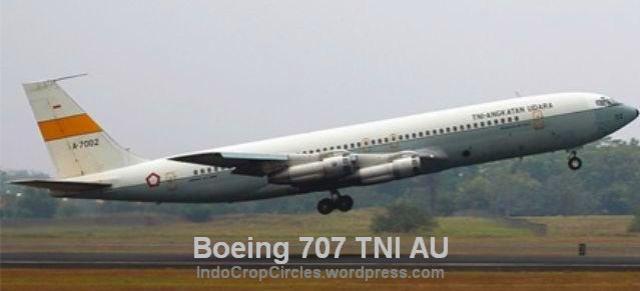 Pesawat-Kepresidenan RI Boeing 707 TNI AU