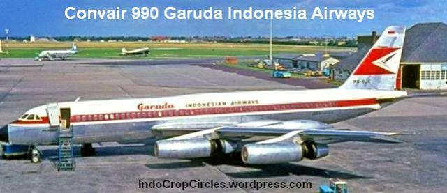 Pesawat-Kepresidenan RI Convair 990 Garuda Indonesia Airways