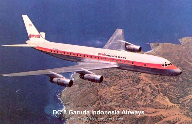 Pesawat-Kepresidenan RI DC-8 Garuda Indonesia Airways