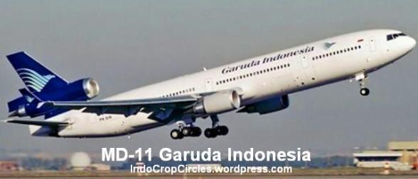 MD-11 Garuda Indonesa, penerus DC-10 yang sering digunakan Soeharto, Gus Dur, dan Megawati saat jadi presiden (Foto : wikipedia)