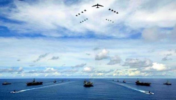 russia-vs-usa-war plane ship