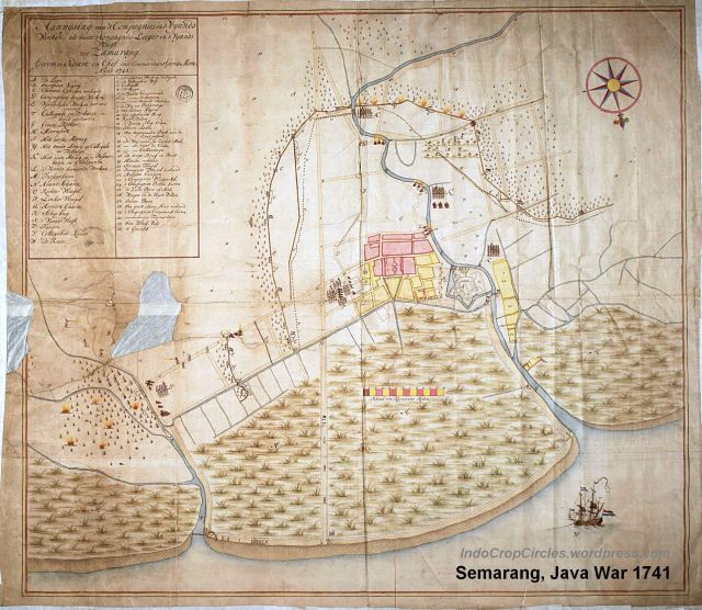 Semarang, Java war 1741 big