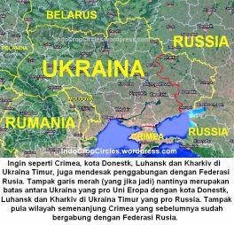 Ukraina Timur minta gabung dengan russia