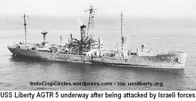 USS-Liberty-AGTR-5-underway-after-being-attacked-by-Israeli-forces