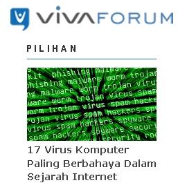 vivaforum virus komputer