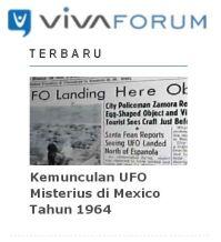 vivanews forum UFO Mexico 1964