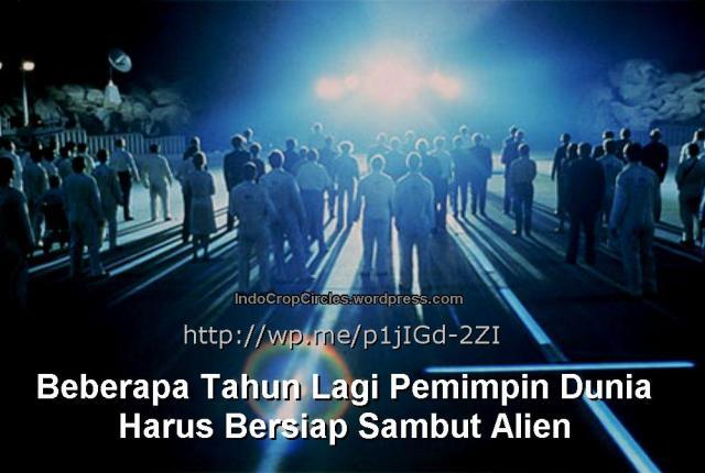 Beberapa Tahun Lagi Pemimpin Dunia Harus Bersiap Sambut Alien