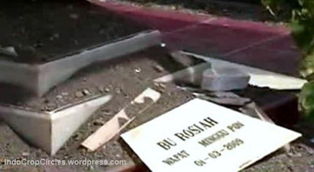 kuburan makam meledak Tulungagung 3