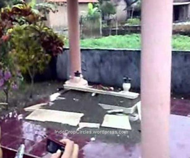 kuburan makam meledak Tulungagung