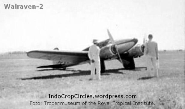 Pesawat Walraven-2 pesanan Khouw Ke Hien; dibuat oleh Laurents Walraven, MP Pattist, dan Achmad bin Talim. (Foto: Tropenmuseum of the Royal Tropical Institute)
