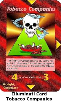 Illuminati Card - Tobacco Companies