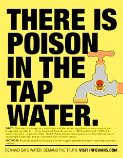 fluoride in the tap water
