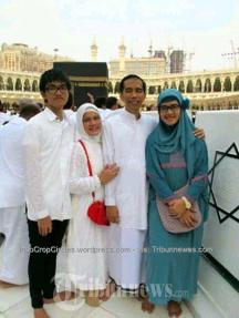 jokowi_umrah keluarga_bersama_istri_dan_kedua_putranya