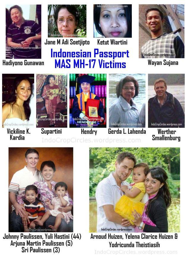 korban MH-17 indonesia  victims