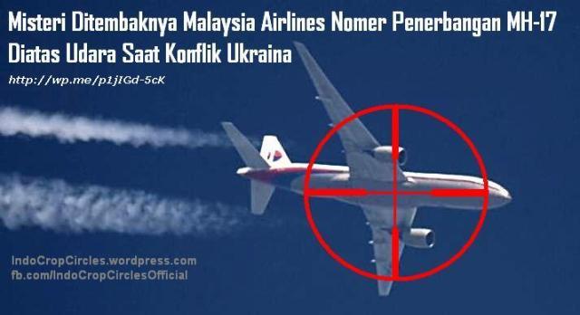 Malaysia Airline mh-17 ditembak diatas ukraina banner