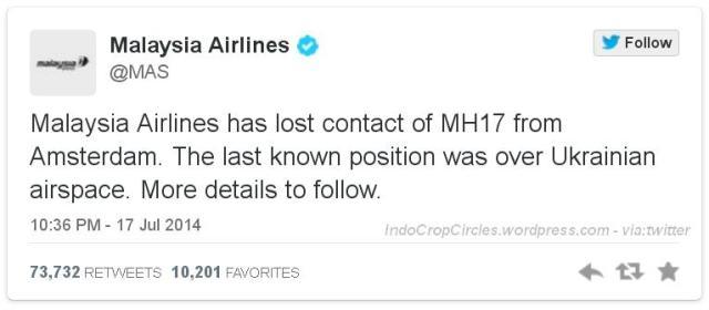 mas mh-17 twitter