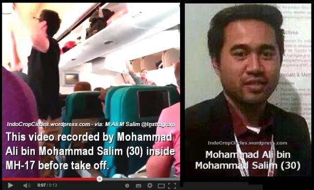 Mohammad Ali bin Mohammad Salim (30) video MH-17