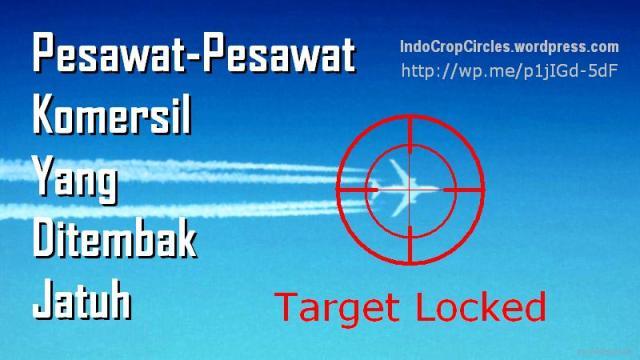pesawat komersil ditembak jatuh oleh rudal