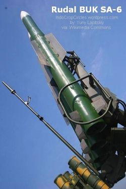 Sistem rudal BUK yang ditengarai menjatuhkan pesawat Malaysia Airlines MH17 di wilayah udara Ukraina (Yuriy Lapitskiy via Wikimedia Commons).