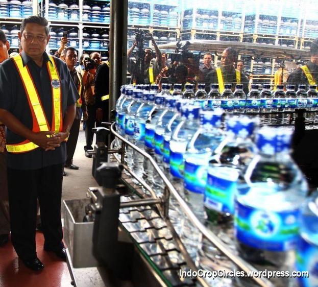 sby di pabrik Aqua
