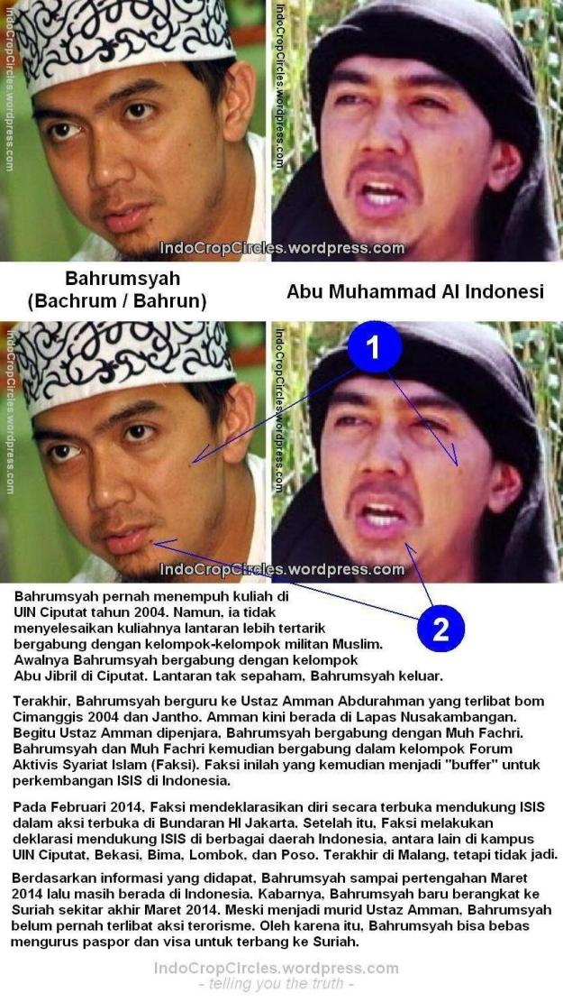 Abu Muhammad Al Indonesi ISIS compared pics confirm identified