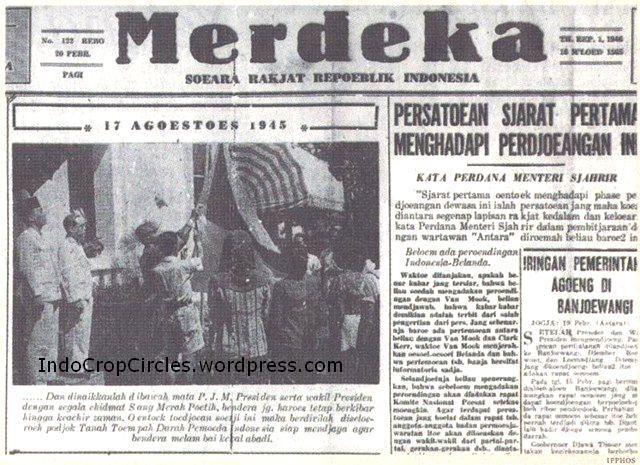 Berita-pertama-kali-tentang-Prokalamsi-di-suratkabar Merdeka-Feb-1946