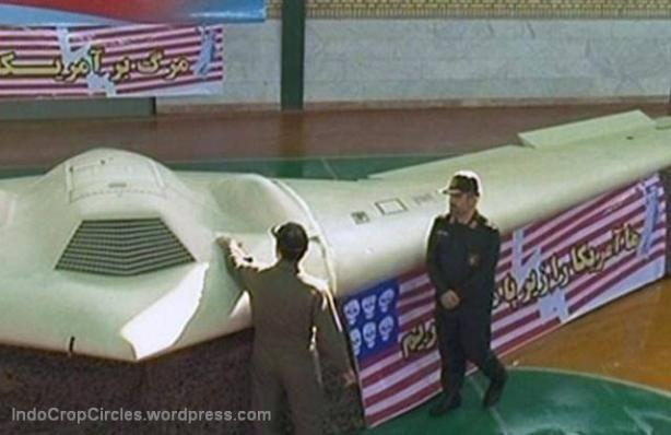 Drone US-captured in Iran