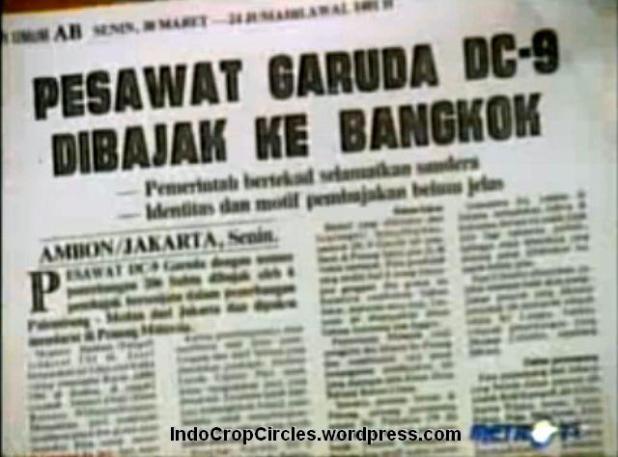 Garuda Indonesia hijacked operation Woyla 5