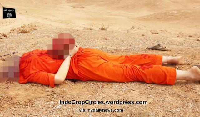 isis fake Beheading pemenggalan bohong 1
