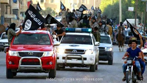 ISIS menguasai kota Raqqa dan kota utama Mosul di Irak utara