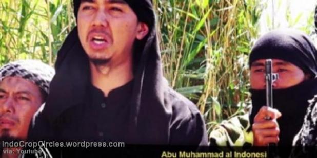 Abu Muhammad al-Indonesi saat pidato (via: Youtube)