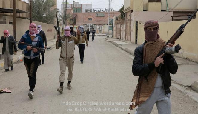 Militan ISIS menguasai kota Ramadi di Provinsi Anbar, Irak, Desember 2013. (Foto: REUTERS/Ali al-Mashhadani)