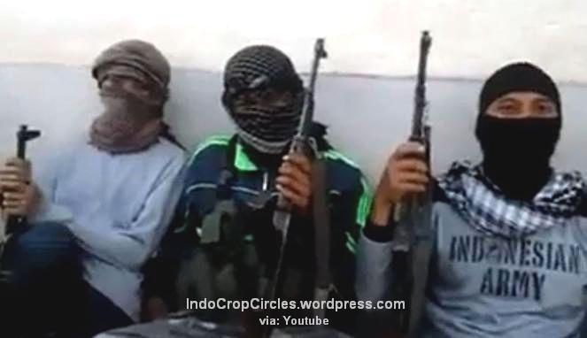 Mujahidin Indonesia yang bergabung dengan ISIS di Suriah (Foto: Youtube)