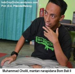 Muhammad Cholili, mantan narapidana Bom Bali II. (D.A. Pitaloka/Malang)