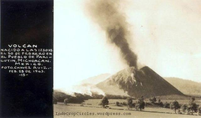 Paricutin volcano mexico 1943 03