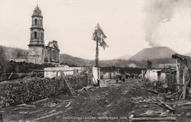 Paricutin volcano mexico 1943 04