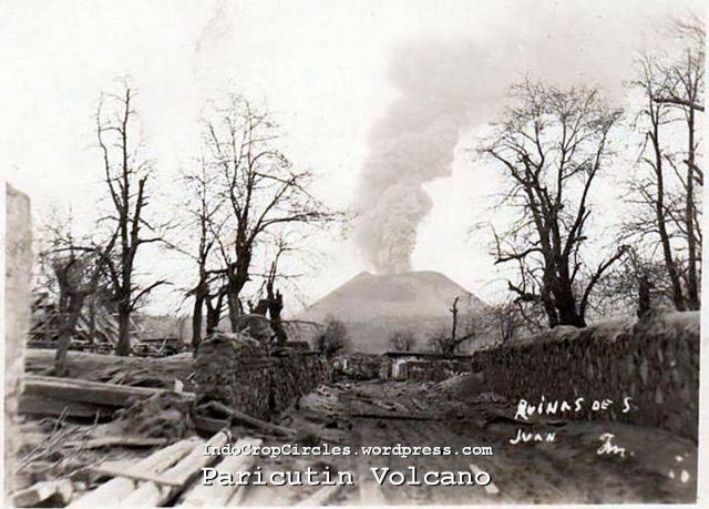 Paricutin volcano mexico 1943 06