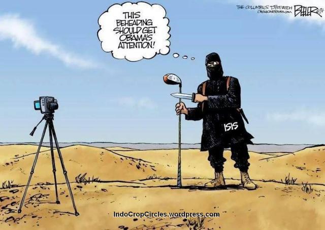 Pemenggalan ISIS kartun cartoon