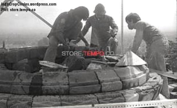 Perbaikan Candi Borobudur Setelah Peledakan di Magelang (tempo.co)